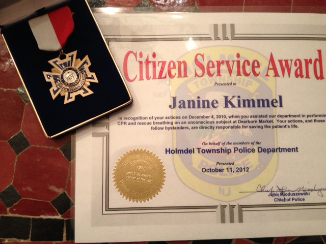 Citizen Service Award